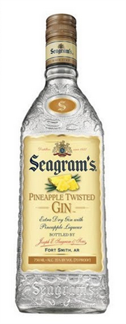 Seagrams Gin Pineapple Twisted